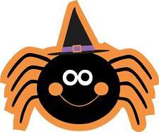 sticker decal car bike bumper halloween spooky kid horror macbook witch spider