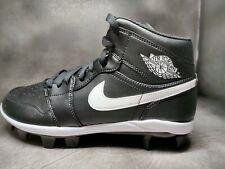 Men's Nike Air Jordan 1 Retro MCS Baseball Cleats Black AV5354-001