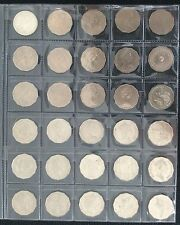 1966 - 2017 50 cent circulated coins set incl all Coms and Fed coins (62 coins)
