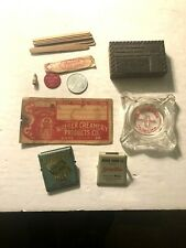 DAIRY MILK-ICE CREAM Antique Advertising Premiums Bill Clips-Tokens ++NY-Pa.