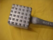 MANTOVA EXTRA HEAVY DUTY MEAT MALLET TENDERIZER HAMMER STRONG COMMERCIAL-QUALITY
