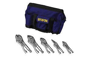 IRWIN VISE-GRIP 5 Pc. The Original Locking Pliers Set with Knife 2077704