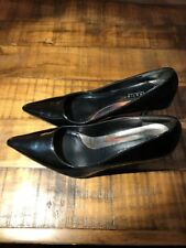 Women's Kenneth Cole Reaction Black Patent Leather Pumps Dress Shoe US 6 Euro 36