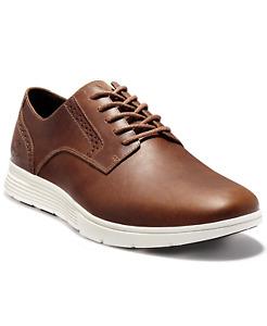 Timberland Men's Franklin Park Brogue Dress Shoes Wheat Brown Size 14M