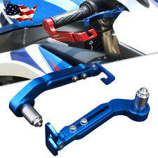 Motorcycle Dirt Bike 7/8'' Universal Handlebar Hand Guard Blue For Yamaha Honda
