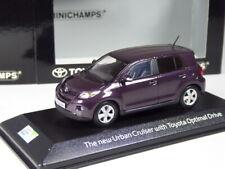 selten: Minichamps Toyota the new Urban Cruiser in 1:43 in OVP