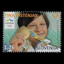 """Slovenia 2016 - Tina Trstenjak """"Slovenian Olympic Medal Winner"""" - MNH"""