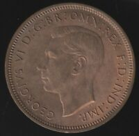 1948 George VI Halfpenny Coin   British Coins   Pennies2Pounds