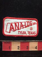 Vintage ANA-LOG INC. TYLER TEXAS Jacket Patch 75X4