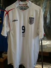 Authentic Umbro 2006 England Rooney Jersey  Portugal    Germany World Cup
