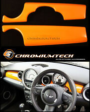MK2 MINI Cooper/S/ONE R55 R56 R57 R58 R59 ORANGE Dashboard Panel Cover LHD
