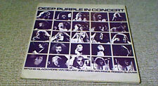 DEEP PURPLE IN CONCERT 1st EMI Harvest UK 2LP 1970 & 1972 Live Stage Shows