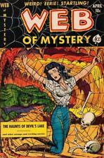 WEB OF MYSTERY #1-29 FULL RUN ON DVD PRE-CODE GOLDEN AGE HORROR COMICS ACE