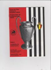 1985 European Cup Final.Juventus v Liverpool.