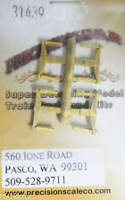 Precision Scale HO #31439 Leaf Springs, for: Locomotive (Brass Casting)