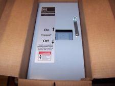 NEW CUTLER HAMMER 100 AMP CIRCUIT BREAKER ENCLOSURE SGDN100 GC GHC GD GHCGFEP