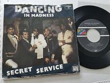 """SECRET SERVICE - Dancing in Madness 1982 SYNTH POP REGGAE 7"""" Germany"""