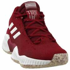 adidas SM Pro Bounce 2018 Low HS Elite  Casual Basketball  Shoes Burgundy Mens -