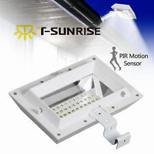 Solar 30 LED PIR Motion Sensor Security Gutter Light Street Light Outdoor Garden
