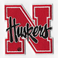 NCAA Nebraska Cornhuskers Iron on Patches Embroidered Patch Applique Badge Logo