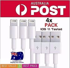 4X high quality Lightning Data Cable Charger for iPhone 5 6 7 8 Plus, X iPad