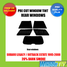 SUBARU LEGACY / OUTBACK ESTATE 1995-2000 20% DARK REAR PRE CUT WINDOW TINT