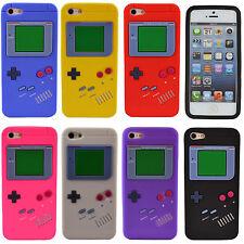 Silikon Schutzhülle Gameboy Case Cover Bumper NEU für iPhone 5