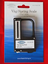 FLADEN 12kg 26lbs SPRING SCALE WITH BUILT-IN 3ft TAPE MEASURE FISHING CARP PIKE