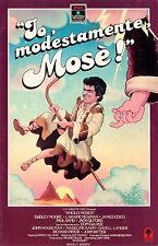 IO, MODESTAMENTE MOSE'! (1980) VHS ORIGINALE 1ª EDIZIONE INEDITA IN HV RARA