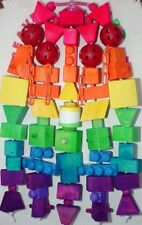 Bird Toy Xtra Lg.(Way Over The Rainbow Surprise Package)Parrot Macaw Bird Toy