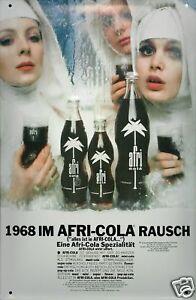 Afri Cola Nonnen Blechschild Schild 3D geprägt gewölbt Tin Sign 20 x 30 cm