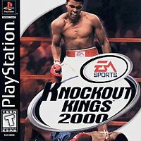 Knockout Kings (Sony PlayStation 1, 1999) PlayStation 1 PS1 Game Complete