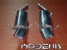 SCARICO Sportivo End Silenziatore Exhaust Silencer Muffler Maserati Ghibli v6