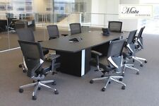 New Verde 10' Modern Office Conference Boardroom Meeting Room Table