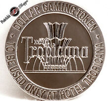 $1 PROOF-LIKE SLOT TOKEN TROPICANA HOTEL CASINO 1966 FM MINT LAS VEGAS NEVADA