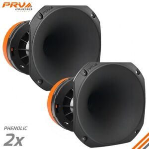 "2x PRV Audio WGP275Ph 1"" Phenolic Compression Driver + Horn Pro WGP275 400W WGP"