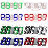 8 Shaped 3D Digital Table Clock LED Time Display Alarm USB Snooze Home Decor 03