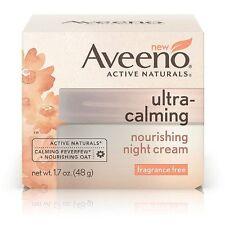 AVEENO Naturals Ultra-Calming Nourishing Night Cream, Fragrance Free 1.70 oz 6pk