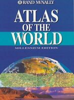 Atlas of the World : A Millennium Edition Hardcover Rand McNally