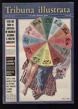 TRIBUNA ILLUSTRATA 28/1966 ALESSANDRO MOSSOTTI CAMPIONATI DEL MONDO CILE 1962
