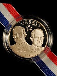 2013-S USA 5-STAR GENERALS COMMEMORATIVE PROOF HALF DOLLAR