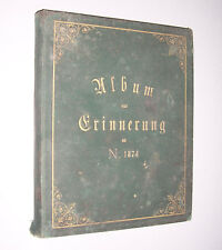Handgeschriebenes Buch 1874 Gedichte Verse Reime !
