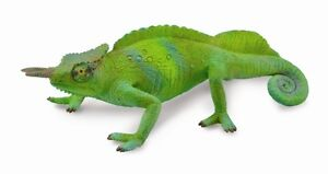 CAMEROON SAILFIN CHAMELEON TOY MODEL by CollectA 88805 *New with tag*