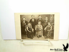 RARE Midget Dwarf Little People Theatre Portrait RPPC Flappers Tuxedo Performers