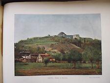 POLOGNE AUTRICHIENNE:Gravure 19°in folio couleur/TOMBEAU DE KOSCIUSZKO