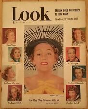 LOOK MAGAZINE JANUARY 30 1951 BETTE DAVIS GLORIA SWANSON JOAN CRAWFORD