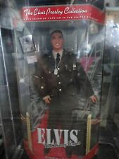 Elvis The army Years Barbie Doll NRFB MIB