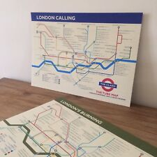 The Clash - London Calling (The Tube) Art Print