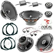 FOCAL 6 speakers kit for FIAT / ALFA ROMEO / LANCIA / OPEL spacer rings adapters