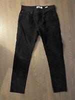 Old Navy Men's Charcoal Gray Slim Corduroy Pants 32x32